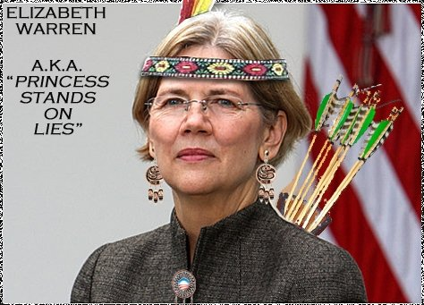 Image result for eliz warren fake indian memes